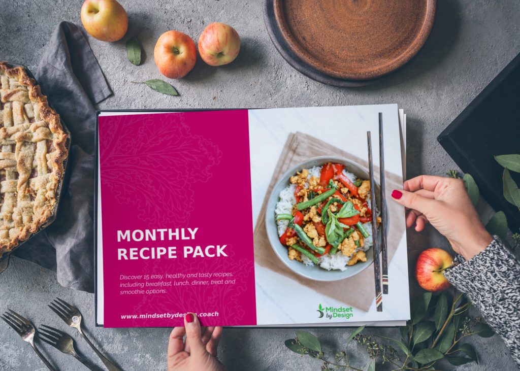recipe pack on table